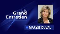 Maryse Duval est la directrice générale du Groupe SOS Seniors qui gère 100 établissements et services, dont 69 Etablissements d'hébergement pour personnes âgées dépendantes (EHPAD), 7 Résidences Autonomie et 5...