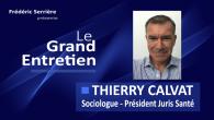 Thierry Calvat est sociologue et Président de Juris Santé Sommaire – Démographie – Epuisement des ressources naturelles – Les scénarios – Menaces et opportunités – Intergénération – Risques pour les...
