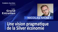 Nicolas Menet est directeur général de Silver Valley. En 2013 est créé Silver Valley, un cluster qui fédère les acteurs de la Silver économie, et qui accompagne les entreprises innovantes...
