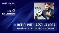 Rodolphe Hasselvander est le fondateur de BLUE FROG ROBOTIC qui développe le robot dit «émotionnel» Buddy. Sommaire : – présentation de Blue Frog Robotics – historique de Blue Frog Robotics...