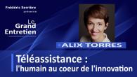 Alix Torres est la Directrice générale de Présence Verte, acteur majeur de la téléassistance. Dans cette émission, nous abordons l'innovation dans le secteur de la téléassistance, vue par Présence Verte....
