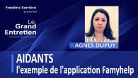 Dirigeante depuis 15 ans dans le #services à la personne, Agnès Dupuy a développé une application pour les aidants afin de les aider à accompagner au mieux leur proche âgé....