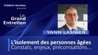 Dans cette émission, nous faisons point sur l'isolement des personnes âgées et des aîné(e)s en France avec Yann Lasnier qui est le délégué général chez Les Petits Frères des Pauvres....
